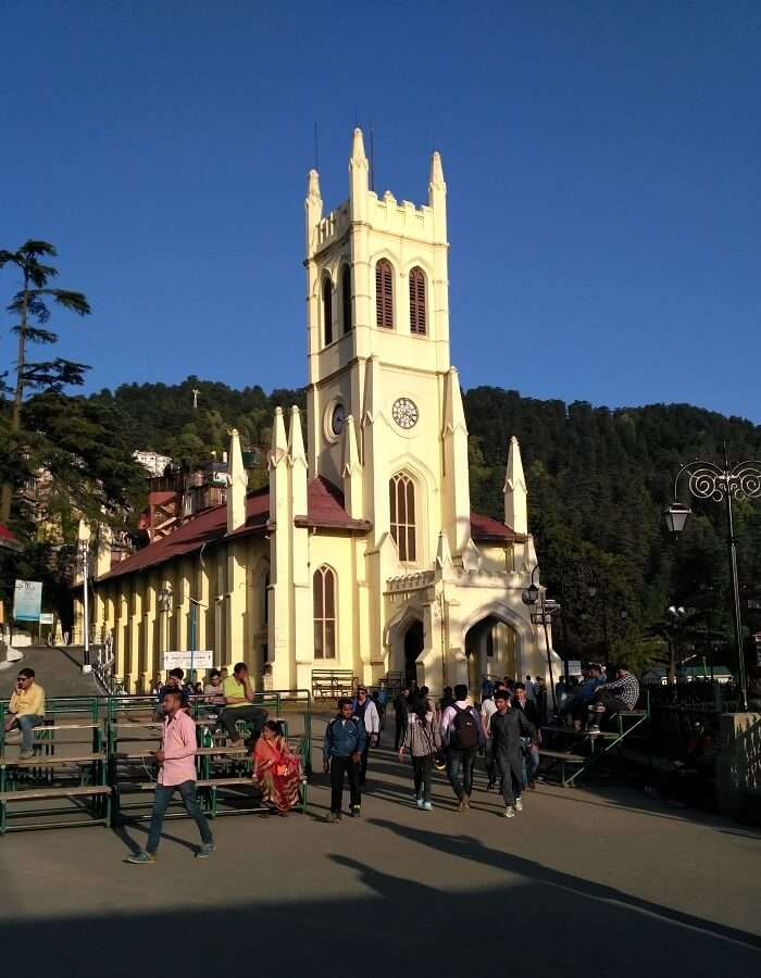 shish at christ church shimla