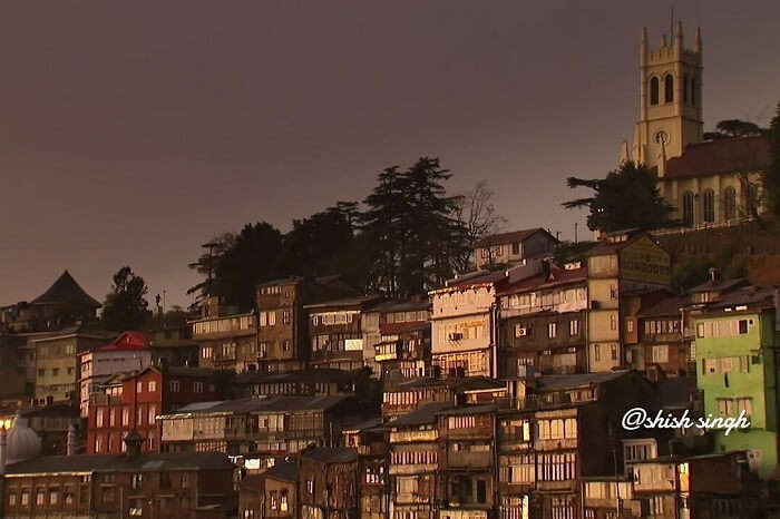 the panoramic views of shimla