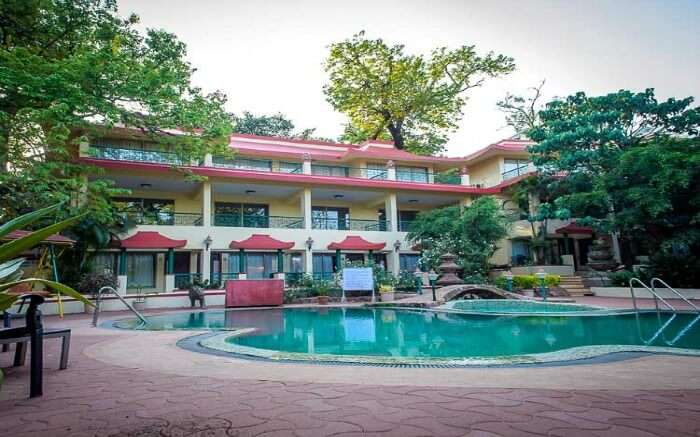 Picture perfect view of Richie Rich Resorts in Matheran in Maharashtra