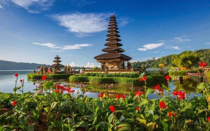 Pura Ulun Temple in Bali