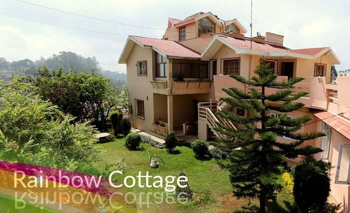 cottages in ooty