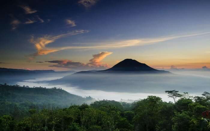 Sunrise around Mount Batur