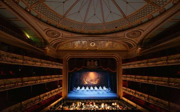 The Royal Opera House in London