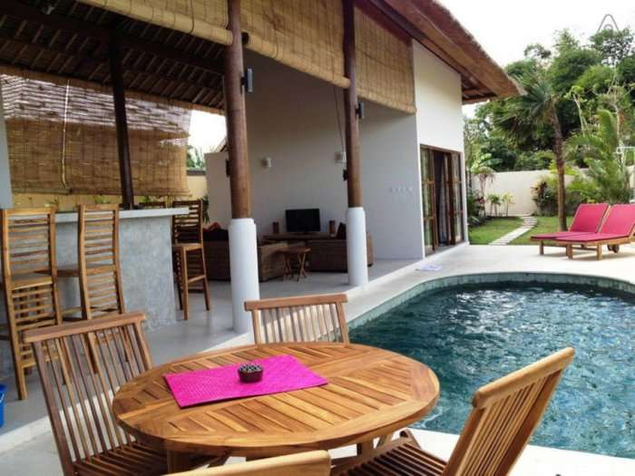 airbnb villa with pool in bali