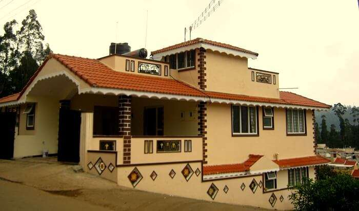 budget cottages in ooty