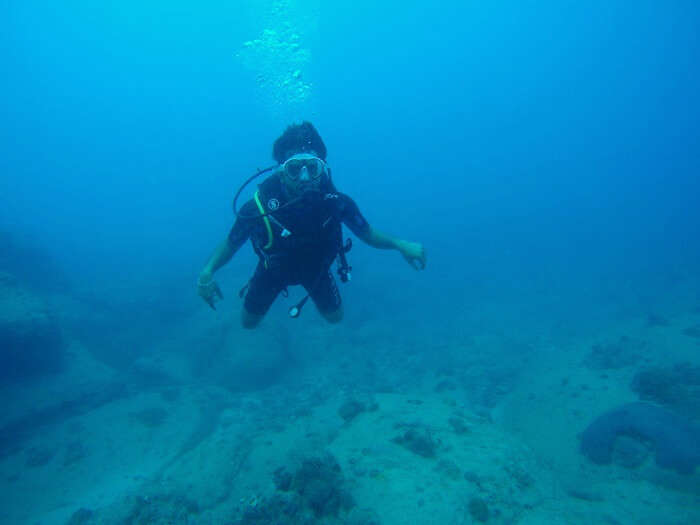 scuba diving in mauritius