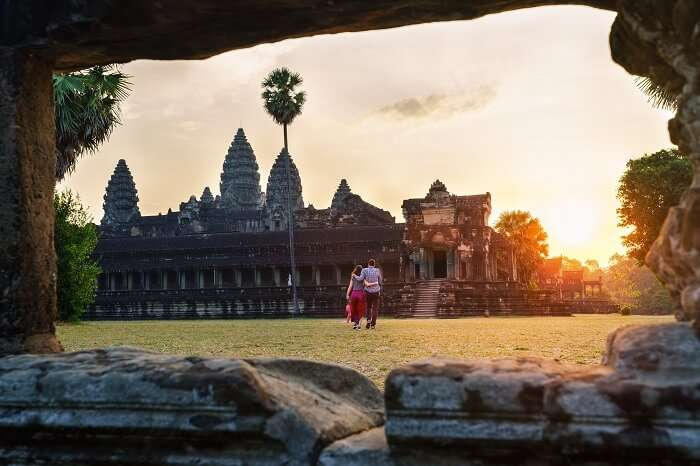 have a delightful honeymoon in Cambodia