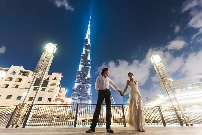 enjoy a mesmerising honeymoon in dubai