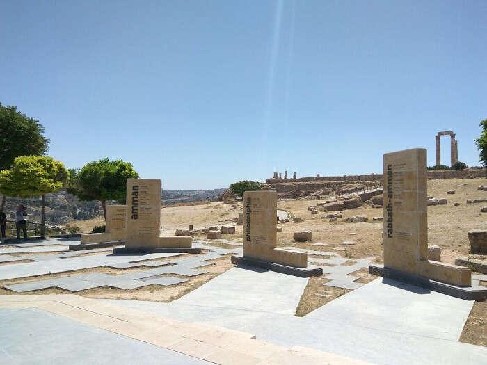 ruins in Amman