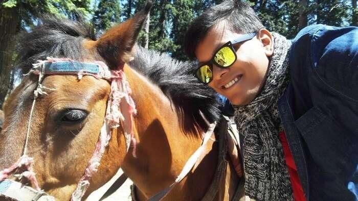 horse ride in pahalgam