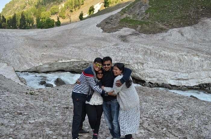 family trip to pahalgam