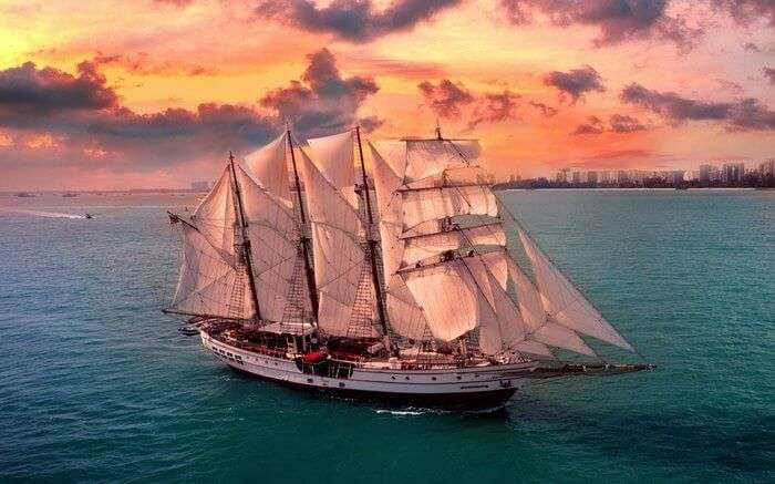 Tall Ship in Singapore