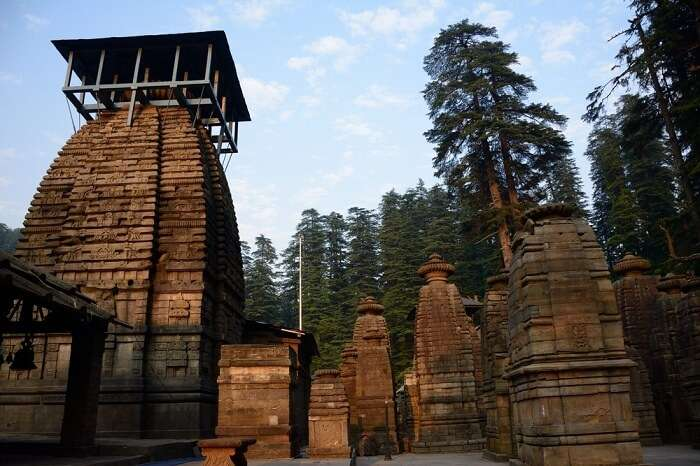 Jageshwar Temple in one of the hill stations of Uttarakhand