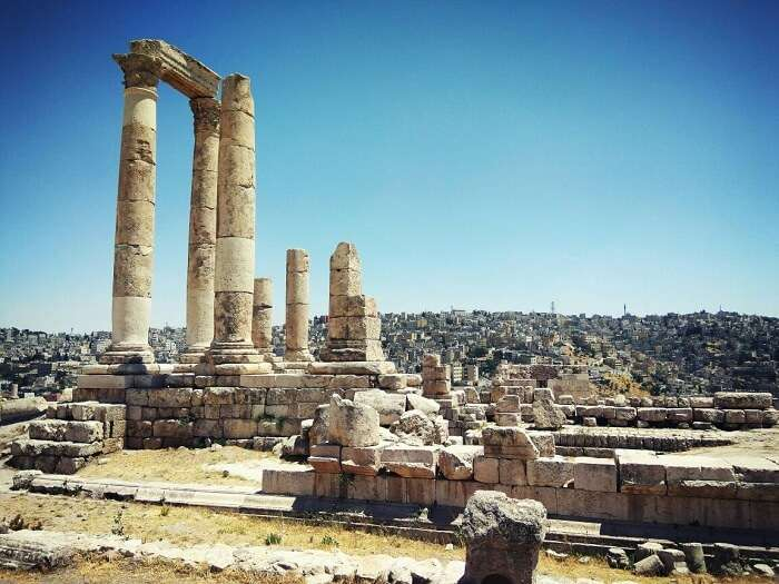 sightseeing in amman