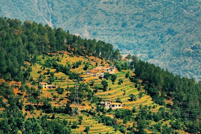 Hill station near shimla india