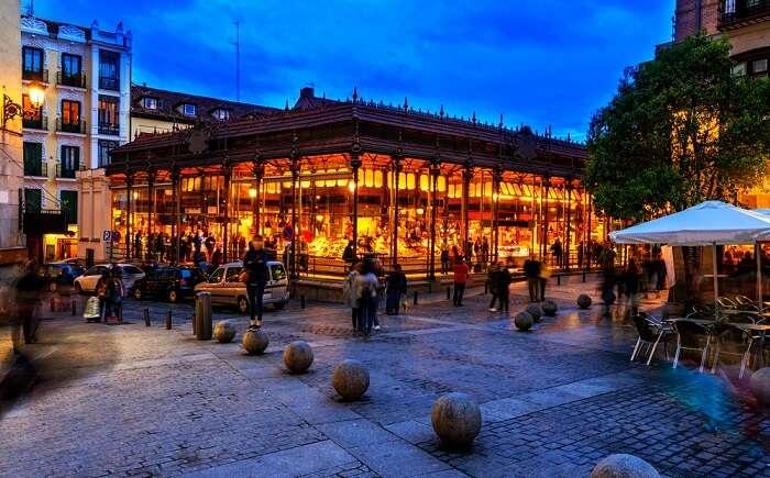 Market of San Miguel, Madrid
