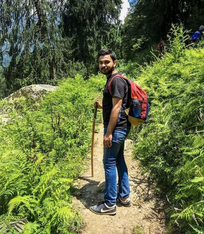trek to Kheerganga