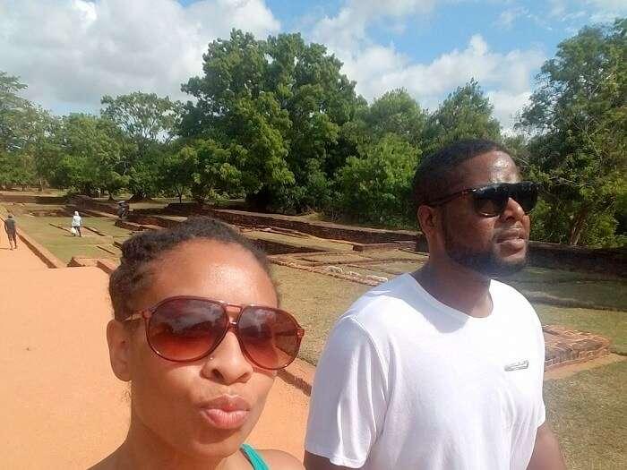 trip to sigiriya rock fort