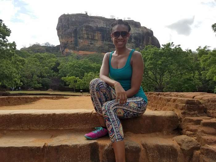 rock fort in sigiriya