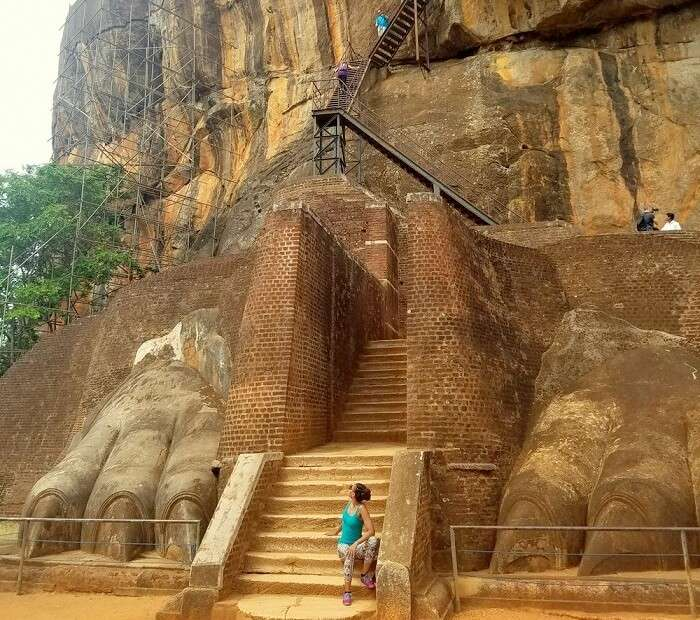 adventure in sigiriya
