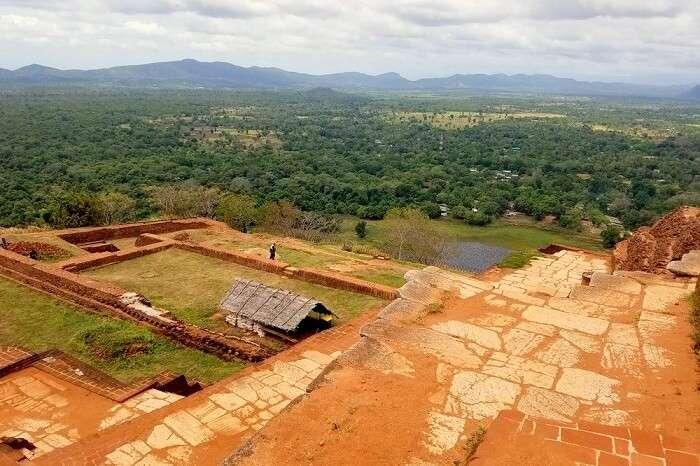 landscape in sigiriya