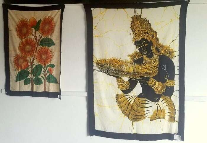 paintings in Sri Lanka