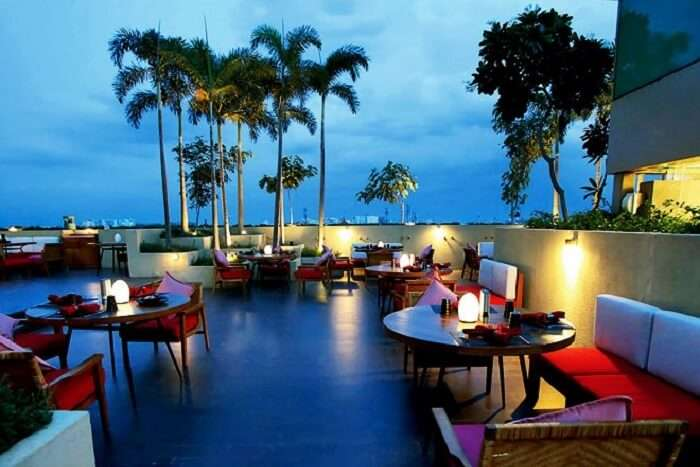 romantic restaurants in Chennai