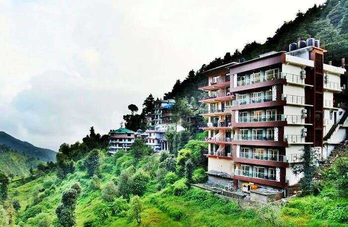 luxury hotels in Mcleodganj