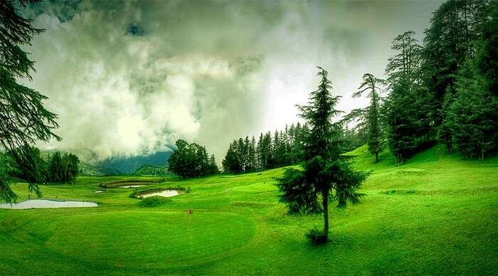Beautiful hill station shimla