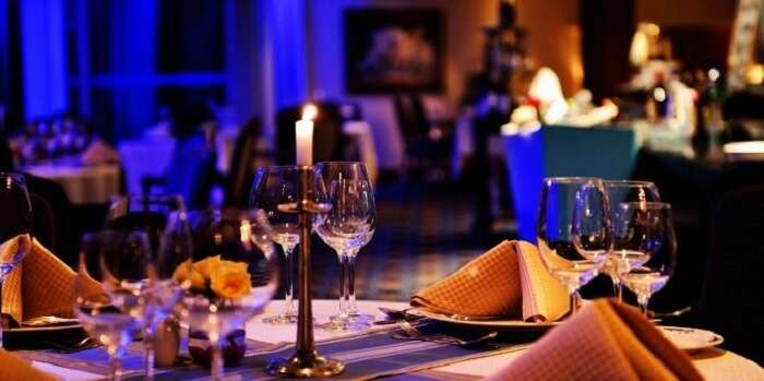 candle light dinner restaurants in Chennai