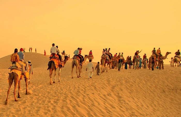 Khuri dunes, Jaisalmer