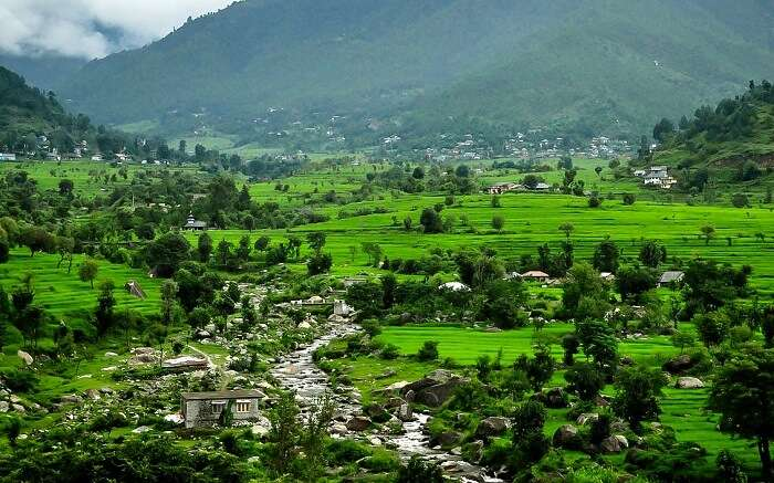 Hill station in himachal