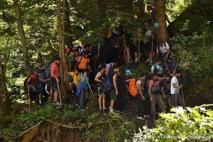 trekking in Kheerganga