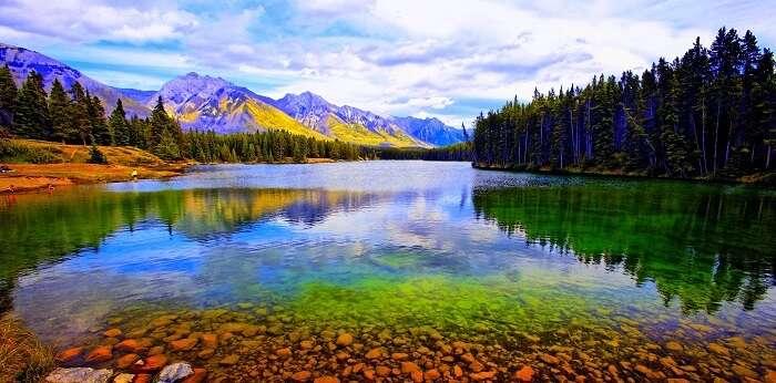 Beautiful Banff National Park Canada