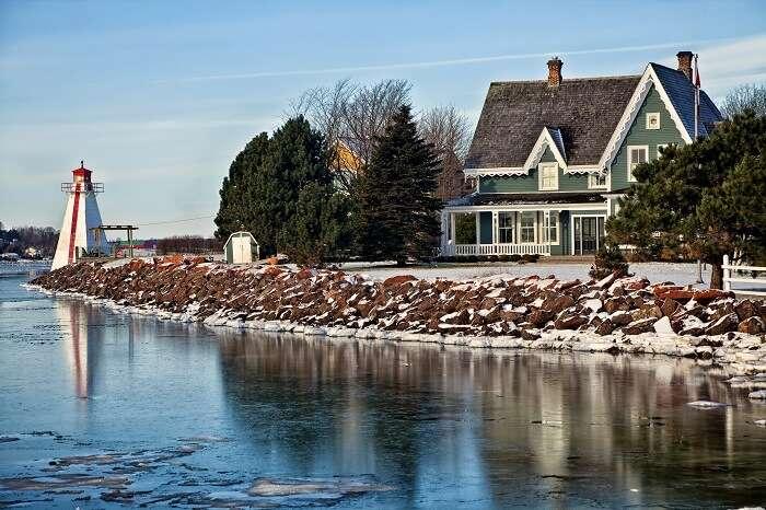 Charlottetown in winters