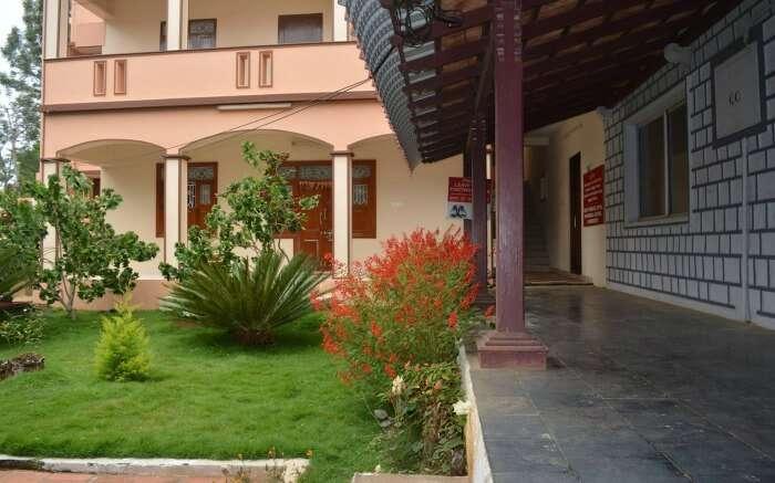 Corridor view of Twinkle Homes in Yercaud