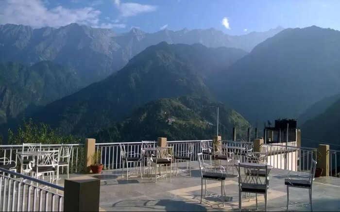 Dining area in Nishaad Resorts