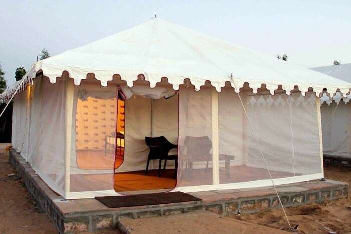 Hariyali Dhani Camps and Resort tent
