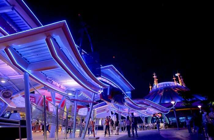 Hyperspace Mountain in Hong kong
