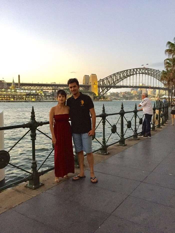 honeymoon in sydney
