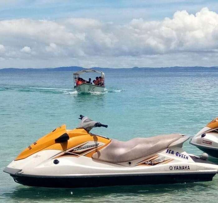 water sports in andaman