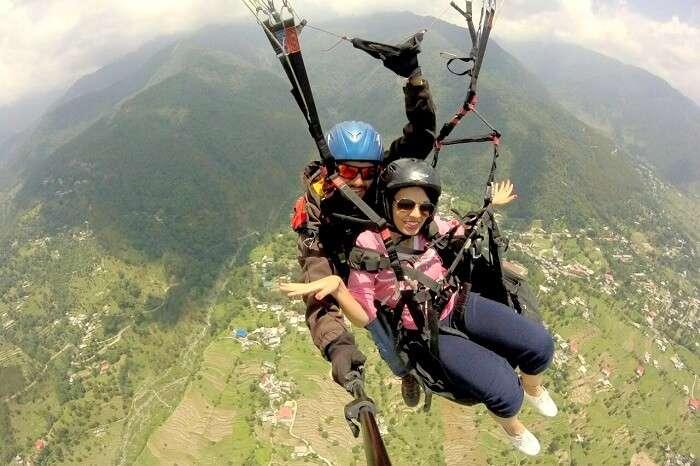 paragliding near bir billing