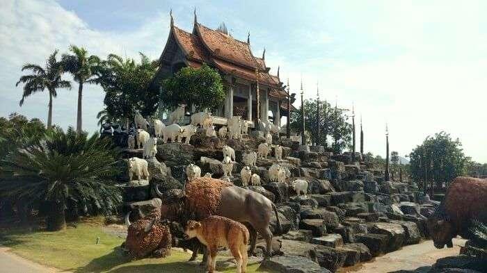 architecture in pattaya