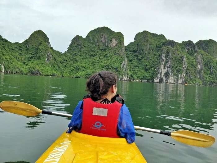 adventure activities to do in ha long bay