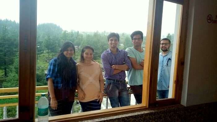 accommodation in manali