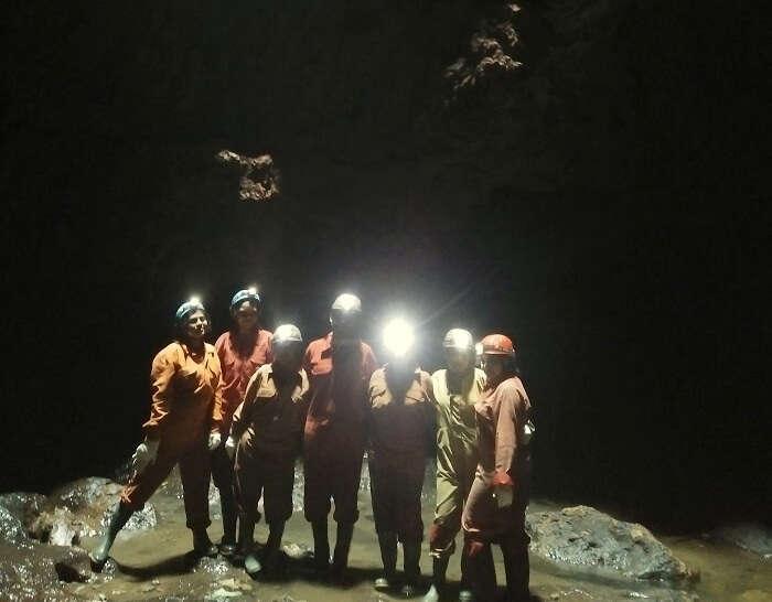 adventure activities in meghalaya
