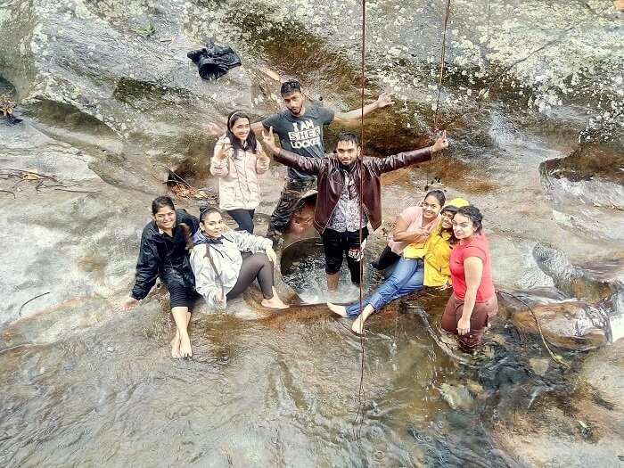 waterfalls in cherrapunjee