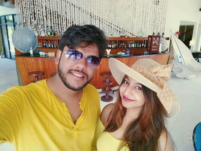 ambuj rashmi enjoying maldives vacation