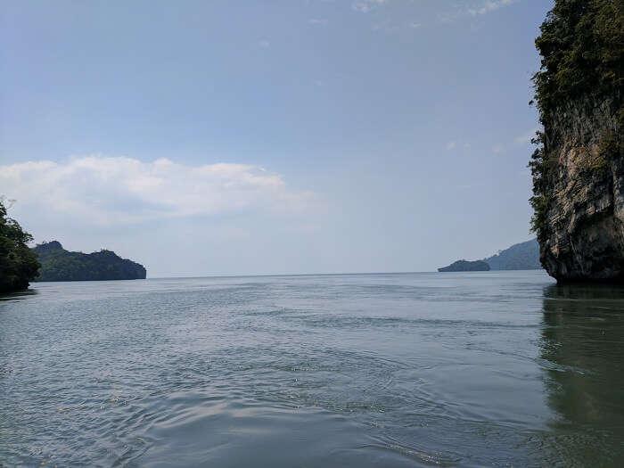 sea in langkawi