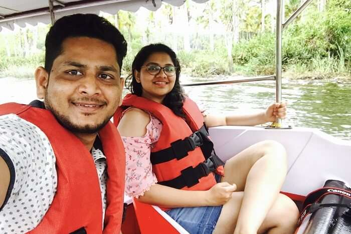 aarti revan kovalam backwater mangrove boating